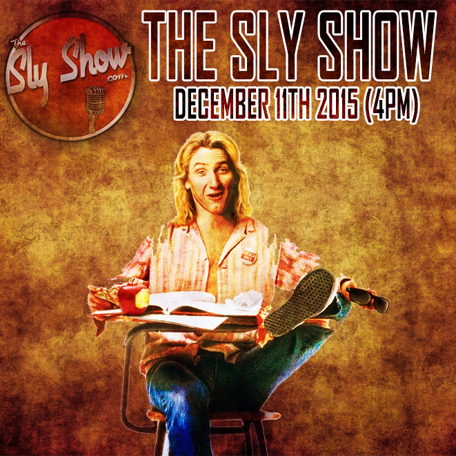 Irish On Trump Isn T It Just Dreadful: (THE SLY SHOW (4PM) 12-11-15) Sly Been Sick, Rap Names