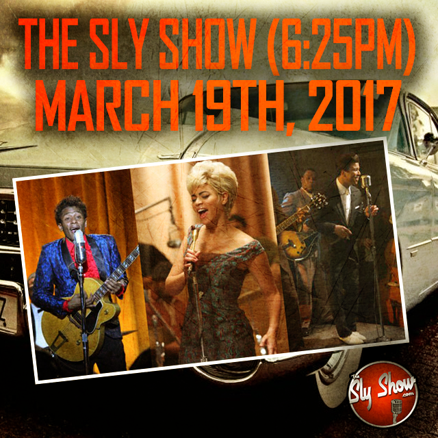 The Sly Show 625pm  Rip Chuck Berry 10 Cigarettes Boardwalk Empire Tia Sweets Yukmouth Wbc Sunday Night Cadillac Records More